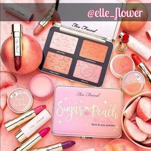 Brand NEW in Box Too Faced Sugar Peach Full Face
